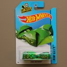 Hot Wheels 2014 HW City Cloak And Dagger (green) (Treasure Hunt)