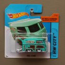 Hot Wheels 2015 HW City Volkswagen Kool Kombi (turquoise)