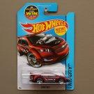 Hot Wheels 2015 HW City Chevrolet Super Volt (burgundy)