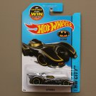 Hot Wheels 2015 HW City Batmobile (Batman) (chrome) (SEE CONDITION)