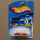 Hot Wheels 2001 First Editions Ferrari 156 (red)