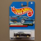Hot Wheels 1999 X-Ray Cruiser Series Mercedes C-Class (black)