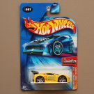 Hot Wheels 2004 First Editions Tooned Ferrari 360 Modena (yellow) (SEE CONDITION)