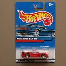 Hot Wheels 2000 Collector Series Mercedes CLK-LM (red)