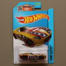 Hot Wheels 2015 HW City Fast Felion (gold) (Treasure Hunt) (SEE CONDITION)
