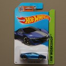 Hot Wheels 2015 HW Workshop '12 Acura NSX Concept (blue)