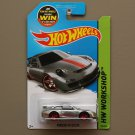Hot Wheels 2015 HW Workshop Porsche 911 GT3 RS (ZAMAC silver - Walmart Excl.) (SEE CONDITION)