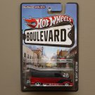 Hot Wheels Boulevard Case N '85 Chevy Astro Van (SEE CONDITION)
