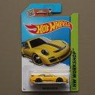 Hot Wheels 2015 HW Workshop Porsche 911 GT3 RS (yellow)