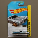Hot Wheels 2014 HW Off-Road '72 Ford Ranchero (ZAMAC silver - Walmart Excl.) (SEE CONDITION)
