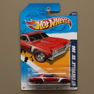 Hot Wheels 2012 Muscle Mania GM '67 Chevelle SS 396 (red)