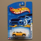 Hot Wheels 2002 First Editions 2001 Mini Cooper (yellow) (5-spoke wheel variation)