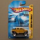Hot Wheels 2008 New Models Hummer H2 SUT (gold)