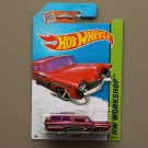 Hot Wheels 2015 HW Workshop 8 Crate (burgundy)