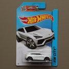 Hot Wheels 2015 HW City Lamborghini Urus (white)