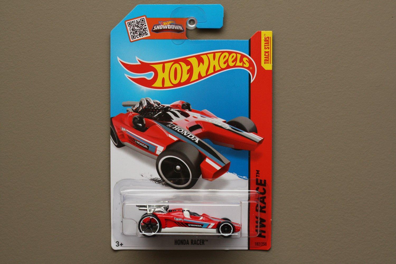 Hot Wheels 2015 HW Race Honda Racer (red)