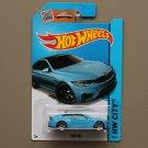 Hot Wheels 2015 HW City BMW M4 (blue)