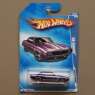 Hot Wheels 2009 Muscle Mania '69 Camaro (purple)