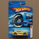 Hot Wheels 2006 First Editions Nissan 350Z (yellow)