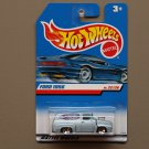 Hot Wheels 1999 First Editions '56 Ford F-100 (pearlescent blue)