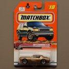 Matchbox 2000 Series 6 '71 Camaro Z-28 (bronze) (SEE CONDITION)