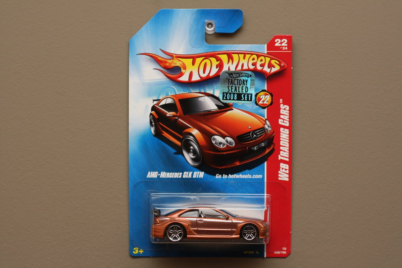 Hot wheels 2008 web trading cars amg mercedes benz clk dtm for Hot wheels mercedes benz