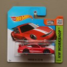 Hot Wheels 2015 HW Workshop Porsche 911 GT3 RS (red)