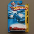 Hot Wheels 2008 First Editions H2GO (Race Boat) (red)