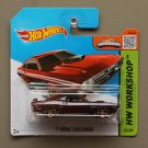 Hot Wheels 2015 HW Workshop '71 Dodge Challenger (burgundy)