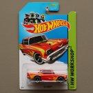 Hot Wheels 2013 HW Workshop '57 Chevy (red)