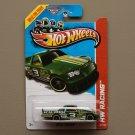 Hot Wheels 2013 HW Racing Circle Trucker (green) (Treasure Hunt)