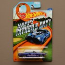 Hot Wheels 2015 Father's Day '63 Mustang II Concept (blue) (SEE CONDITION)