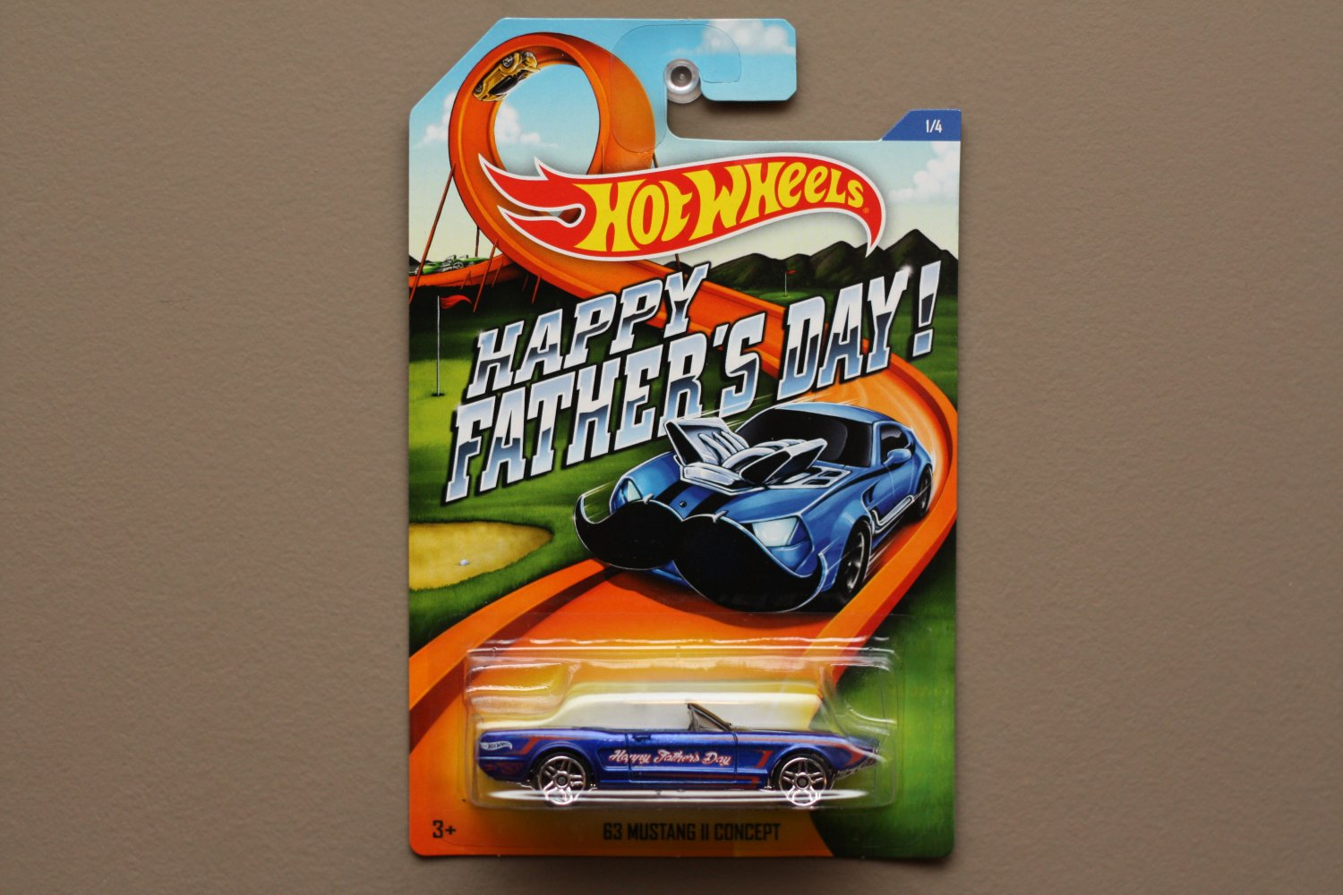 Hot Wheels 2015 Father's Day (COMPLETE SET OF 4)
