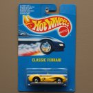 Hot Wheels 1991 Collector Series Classic Ferrari 250 (yellow) (SEE CONDITION)