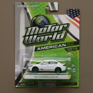 Greenlight Motor World Series 13 American Ed. '13 Dodge Dart GT (white) (Green Machine)