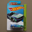 Hot Wheels 2015 HW Workshop Custom '12 Ford Mustang (blue)