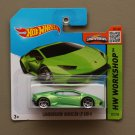 Hot Wheels 2015 HW Workshop Lamborghini Huracan LP 610-4 (green)