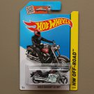 Hot Wheels 2015 HW Off-Road Harley-Davidson Fat Boy (black)