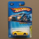 Hot Wheels 2005 First Editions (Realistix) Aston Martin V8 Vantage (yellow)