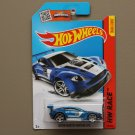 Hot Wheels 2015 HW Race Aston Martin Vantage GT3 (blue)