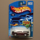 Hot Wheels 2002 Collector Series Mercedes CLK-LM (burgundy) (SEE CONDITION)
