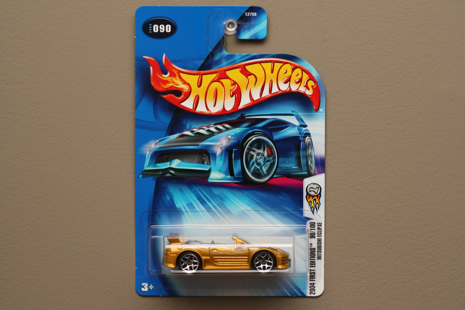 Hot Wheels 2004 First Editions Mitsubishi Eclipse (gold)
