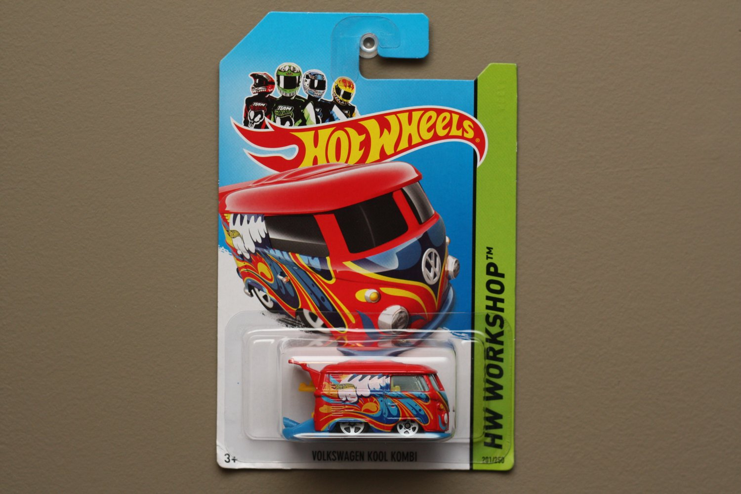 Hot Wheels 2014 HW Workshop Volkswagen Kool Kombi (red) (SEE CONDITION)