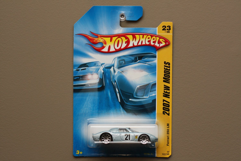 Hot Wheels 2007 New Models Ferrari 250 LM (pearlescent blue)