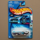 Hot Wheels 2004 Roll Patrol Deora (black/blue) (rare surf boards variation) (SEE CONDITION)