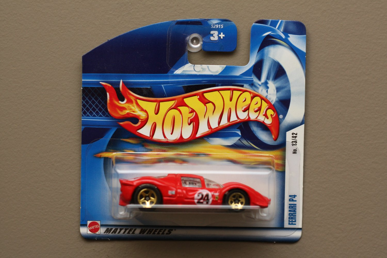 Hot Wheels 2002 First Editions Ferrari P4 (red)