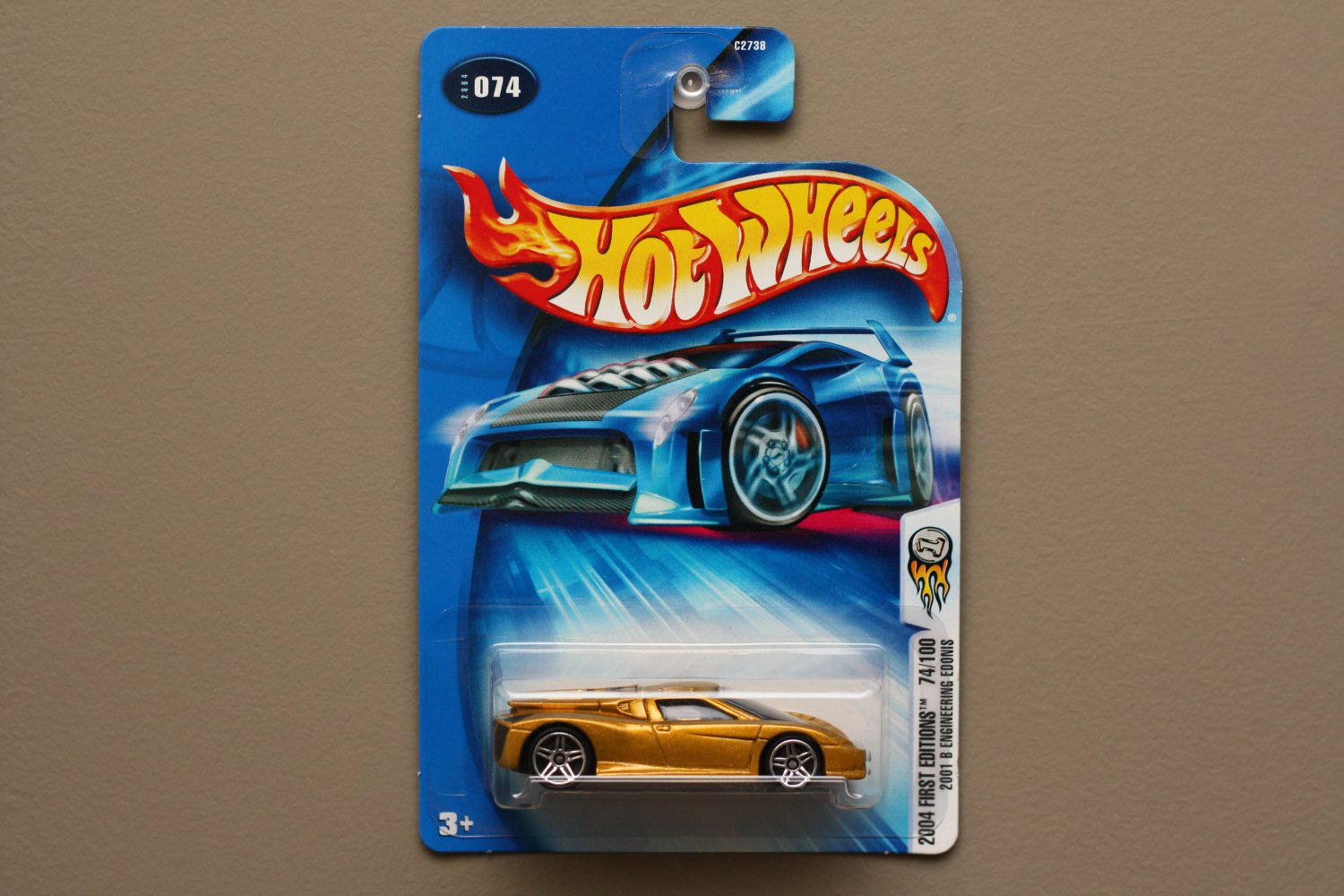 Hot Wheels 2004 First Editions '01 B Engineering Edonis (gold)