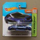 Hot Wheels 2015 HW Workshop Bentley Continental Supersports (blue)