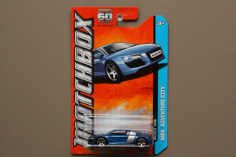 Matchbox 2013 MBX Adventure City Audi R8 (blue)