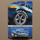 Hot Wheels 2015 Heritage Real Riders Custom Chevy Greenbrier Sports Wagon